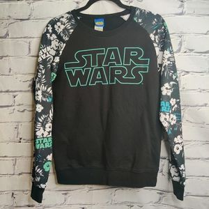 Boys Disney Star Wars Black Sweatshirt